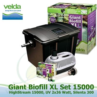 Velda GIANT XL filtrace, pro jezírka do 60 m3