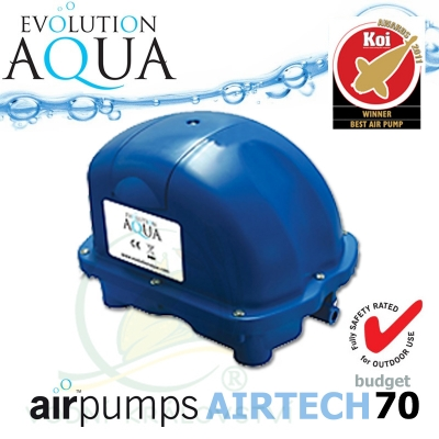 Evolution Aqua kompresor Airtech 70, budget
