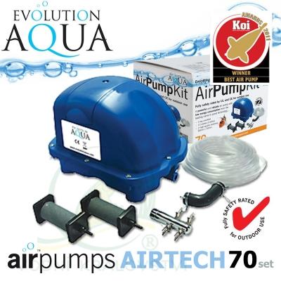Evolution Aqua kompresor Airtech 70 set