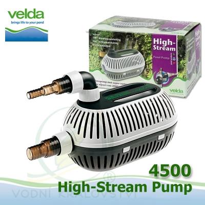 Velda filtrační, jezírkové čerpadlo High Stream 4500