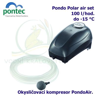 Pontec PondoPolar Air, ochrana proti zamrznutí, kompresor 100 l/hod. + plovák