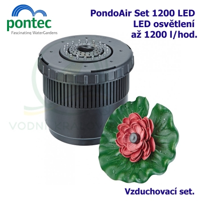 PondoAir Set 1200 LED NEW - Vzduchovací set