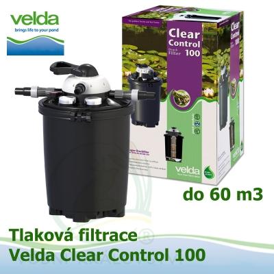 Tlaková filtrace Velda Clear Control 100, pro jezírka do 60 m3