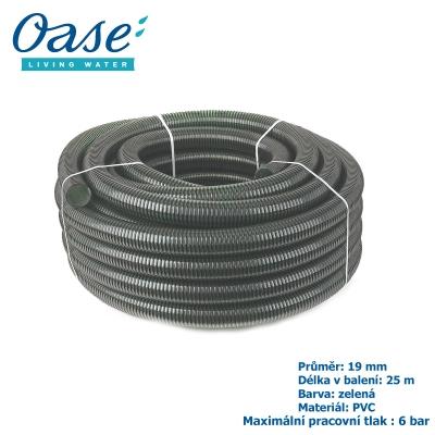 """Jezírková hadice zelená, balení 25 m 3/4"""", 19 mm"""