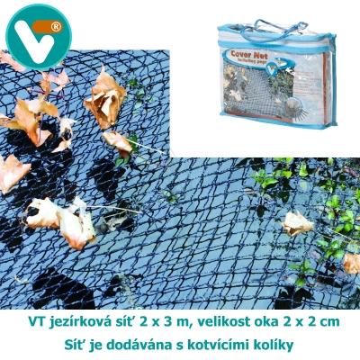 VT jezírková síť 2 x 3 m, velikost oka 20 x 20 mm
