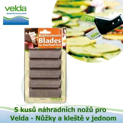 Náhradní nože 5 kusů pro Velda - Duo Pond Tool