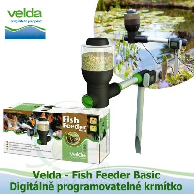 Digitálně programovatelné krmítko - Velda Fish Feeder Basic