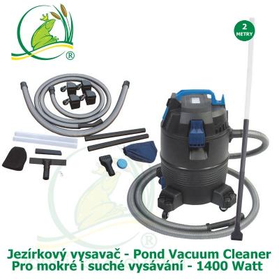 Pond Vaccum Cleaner – jezírkový vysavač na mokré i suché vysávání