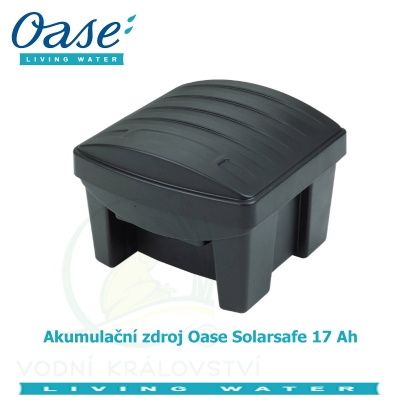 Akumulační zdroj Oase Solarsafe 17 Ah