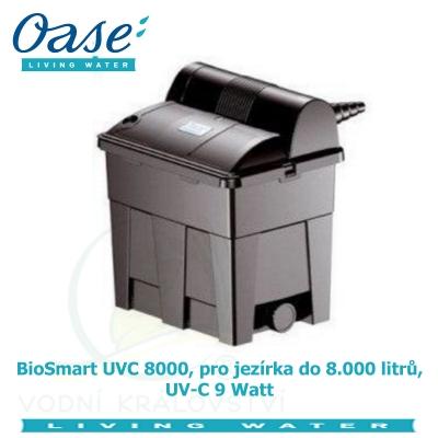 BioSmart UVC 8000, pro jezírka do 8.000 litrů, UV-C 9 Watt