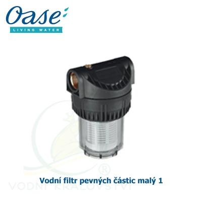 Vodní filtr pevných částic malý 1