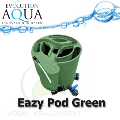 Eazy Pod v zelené barvě, nejlepší a nejuniverzálnější filtrace na trhu, pro jezírka od 5-150m3