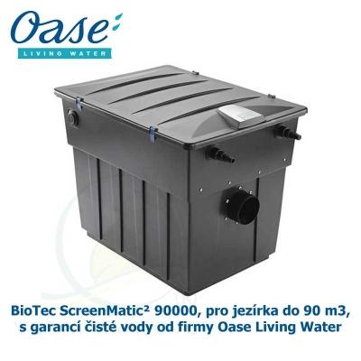 BioTec ScreenMatic² 90000, pro jezírka do 90 m3, s garancí čisté vody od firmy Oase Living Water