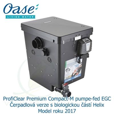 ProfiClear Premium Compact-M pump-fed EGC - Čerpadlová verze s biologickou částí Helix Model roku 2017