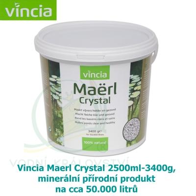Vincia Maerl Crystal 2500ml-3400g, minerální přírodní produkt na cca 50.000 litrů