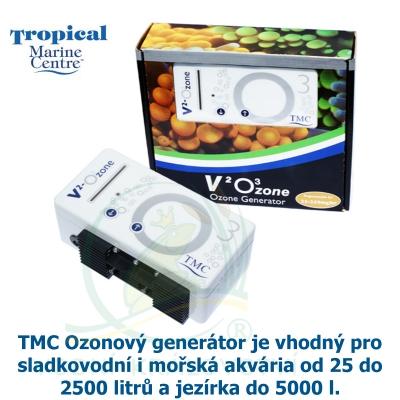 TMC V2 Ozon generátor 25 - 250 mg, vhodný pro sladkovodní i mořská akvária od 25 do 2500 litrů a jezírka do 5000 L