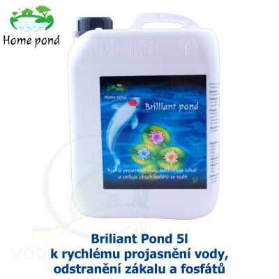 Briliant Pond 5l - k rychlému projasnění vody, odstranění zákalu a fosfátů