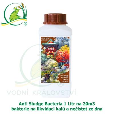 Anti Sludge Bacteria 1 Litr na 20m3 - bakterie na likvidaci kalů a nečistot ze dna