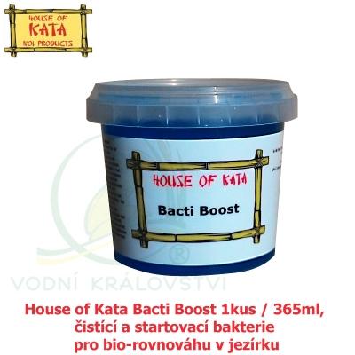 House of Kata Bacti Boost 1kus / 365ml, čistící a startovací bakterie pro bio-rovnováhu v jezírku