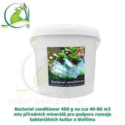 Bacterial conditioner 400 g na cca 40-80 m3, minerály pro tvorbu optimálního biofilmu a dočištění dna zahradního jezírka