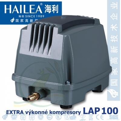 Extra výkonný kompresor LAP-100, 130 lirů/min., 120 Watt.