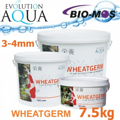 EA Wheatgerm, celoroční krmivo pro malé a menší rybky, velikost 3-4 mm, balení 7,5 Kg