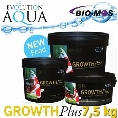 EA Growth Plus, speciální růstové krmivo pro okrasné ryby a koi, velikost 5-6 mm, balení 7,5 kg