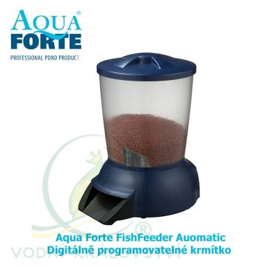 Digitálně programovatelné krmítko – Aqua Forte FishFeeder Auomatic