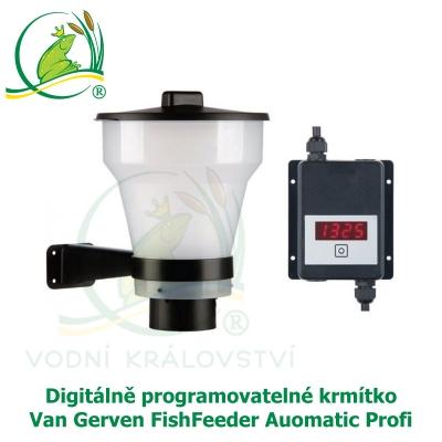Digitálně programovatelné krmítko – Van Gerven FishFeeder Auomatic Profi