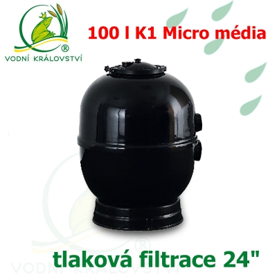"""Tlaková filtrace 24"""", pro 20-100 m3, 100 l K1 Micro"""