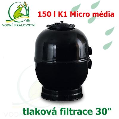 """Tlaková filtrace 30"""", pro 30-150 m3, 150 l K1 Micro"""