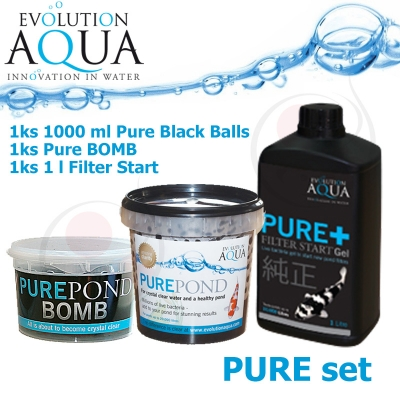 Pure set, bacterial set Pure BOMB + Pure 1000 + Pure Gel 1 litr