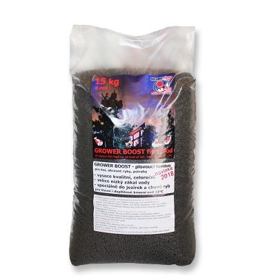 krmivo do jezírek a recirkulačních systémů grower boost 15 kg