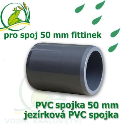 PVC spojka 50 mm trubková