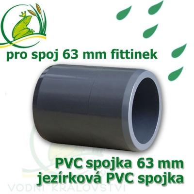 PVC spojka 63 mm trubková