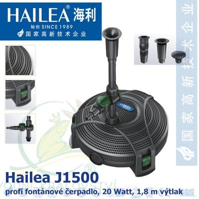 Hailea fontánová a filtrační čerpadlo J1500