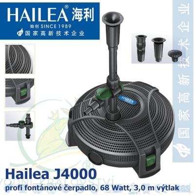 Hailea fontánová a filtrační čerpadlo J4000