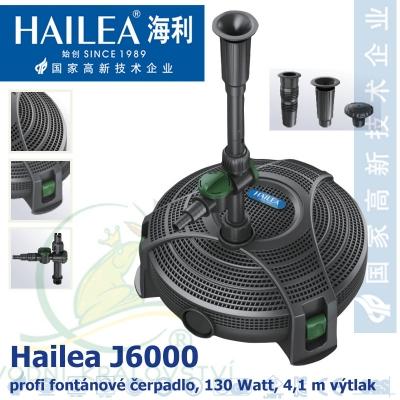 Hailea fontánová a filtrační čerpadlo J6000