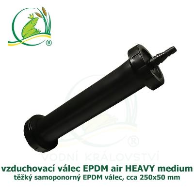 EPDM air HEAVY medium, vzduchovací EPDM válec cca 25x5 cm, ponorný difuzor