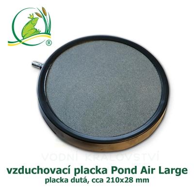 Pond Air large, vzduchovací placka dutá cca 210x28 mm