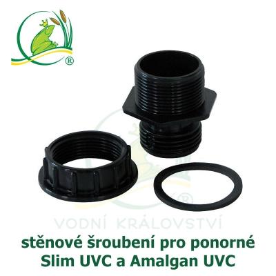 šroubení pro ponorné UVC slim a amalgan