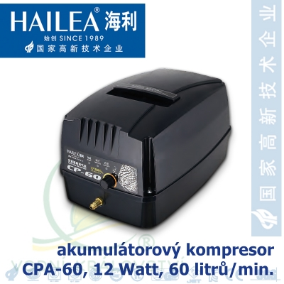 CP-60 kompresor s akumulátorem, 60 litrů