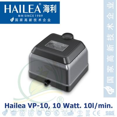 Hailea VP-10, tichý kompresor 10 litrů/min., 10 Watt