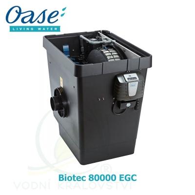 BioTec Premium 80000, bubnový filtr s molitanovou filtrací do 80 m3, s EGC, 54850