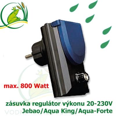 regulovatelná zásuvka, zásuvka s regulátorem přikonu