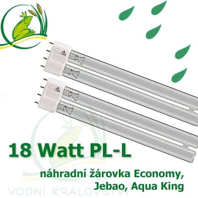 náhradní žárovka 18 Watt PL-L
