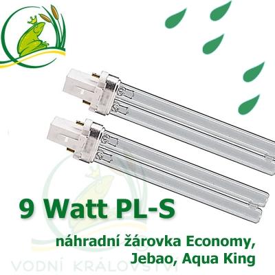 náhradní žárovka 9 Watt PL-S