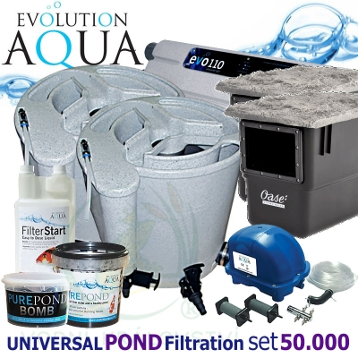 Universal Pond Filtration Set 50000