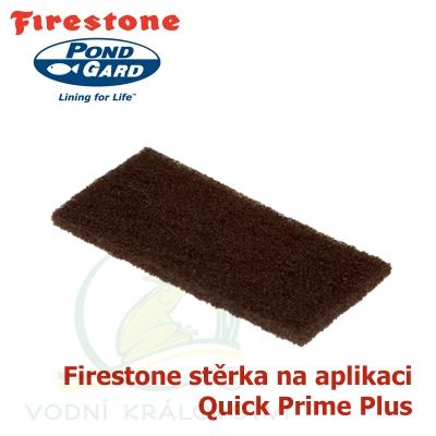 Firestone pad - stěrka