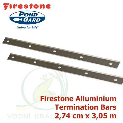 Firestone Alluminium Termination Bars 3,05 m